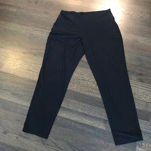 J.Jill Wearever Slim Leg Medium Petite Pant Black